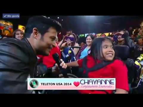 Chayanne en Teleton USA 2014 Tu Respiración