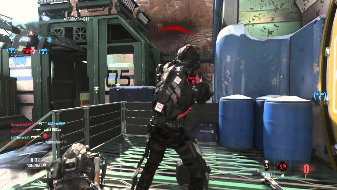 Call of Duty®: Advanced Warfare Domination Gameplay - YouTube