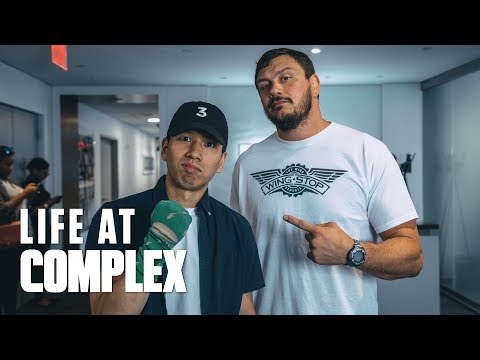 IT'S PUNCH AN MMA LEGEND IN THE FACE WEEK! | #LIFEATCOMPLEX
