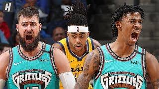 Golden State Warriors vs Memphis Grizzlies - Full  Highlights | January 12 | 2019-20 NBA Season