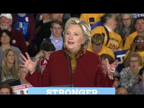 Full Video: Clinton makes plea to undecided voters in Pittsburgh