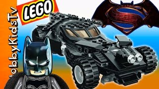 New Batman vs Superman Lego BATCAR Build