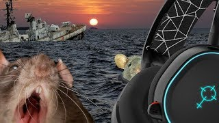 RATS FLEE THE SINKING BULLY HUNTERS SHIP (STEEL SERIES LOOKS GUILTY)