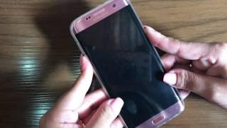 O Galaxy S7 Edge trava sim... E mtoooo...