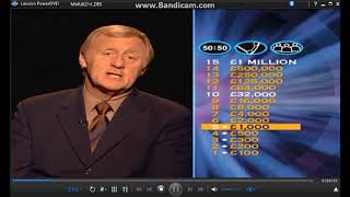Who Wants To Be A Millionaire 2nd Edition DVD Gameplay (12)
