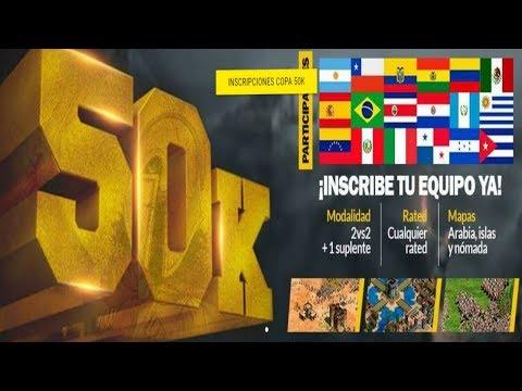 COPA 50K 4 RONDA COLOMBIA ECUDOR AGE OF EMPIRES 2