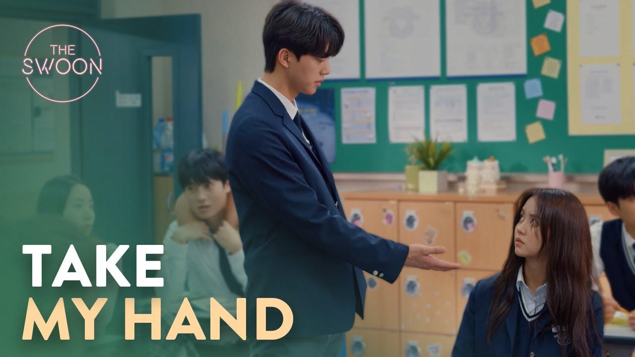 Song Kang Asks For Kim So Hyun S Hand To Hold Love Alarm Ep 2 Eng Sub Youtube