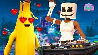 PEELY FALLS IN LOVE WITH MARSHMELLO'S SISTER | Fortnite Short Film