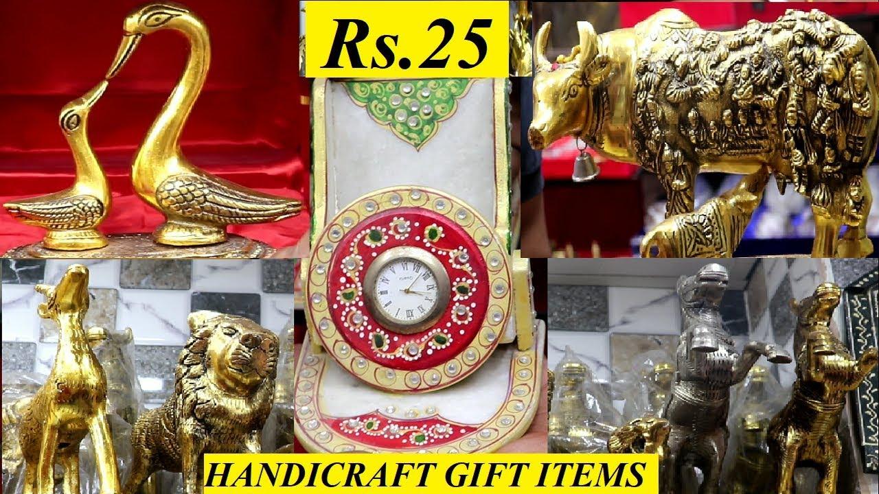 Gifts Wholesale Market in Sadar Bazar |All Handicrafts Items in Delhi|Home  Decor Items|Starts @Rs 25