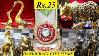 Gifts Wholesale Market In Sadar Bazar  all Handicrafts Items In Delhi home Decor Items starts @rs.25