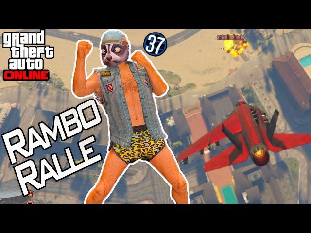 Rambo Ralle räumt auf ...| Gta 5 Online