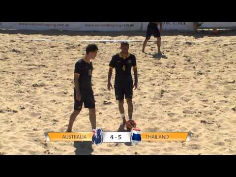 Australian Beach Soccer Cup 2014 SBS Highlights 2nd Part