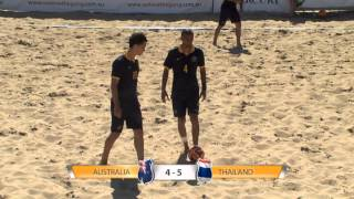Australian Beach Soccer Cup 2014 SBS Highlights 2nd Part