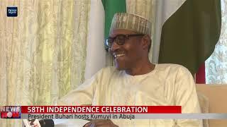 President Buhari hosts Kumuyi in Abuja
