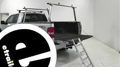 Westin Truck Pal Fold Up Bed Ladder Review - etrailer.com
