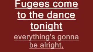 fugees no woman no cry lyrics