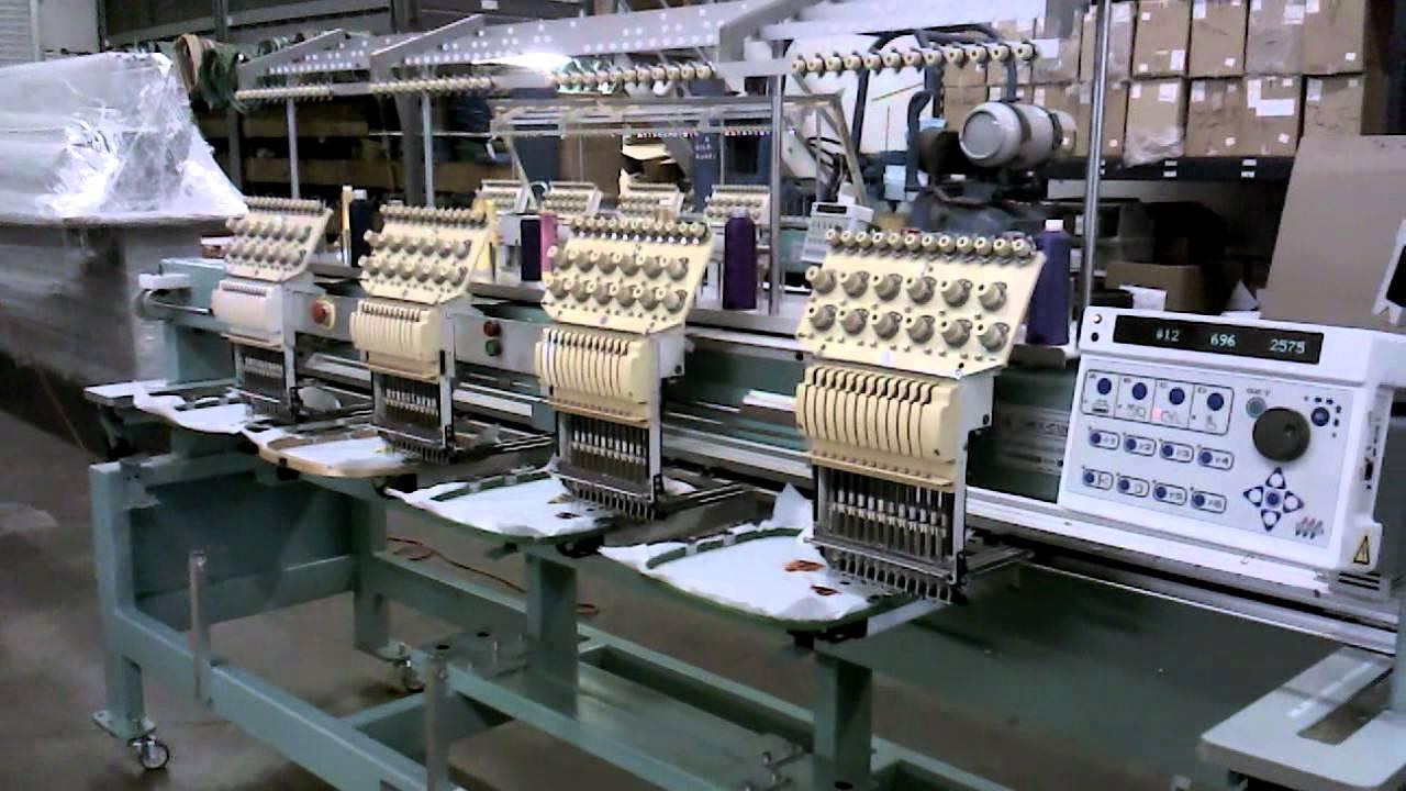 Tajima TMFX C1204 Embroidery Machine for Sale (Bordadora ...
