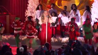 Mariah Carey - All I Want For Christmas Is You at Rockfeller Center 2013
