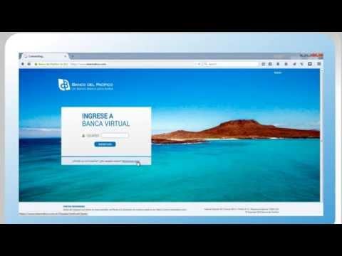 Banco del Pacífico - Nueva Banca Virtual Intermático (Registro por primera vez)