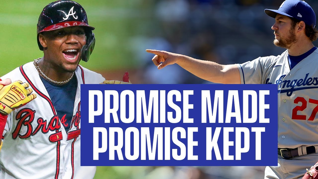 Trevor Bauer Keeps His Promise to Ronald Acuña Jr.!