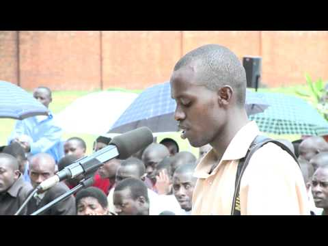 President Kagame answers questions from KIST and KHI students - Kigali, 15 April 2011 Part 1/5