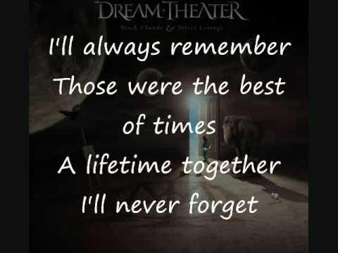 Dream Theater - The Best Of Times (Lyrics Video)