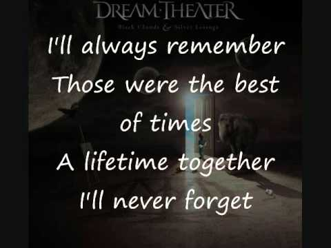 Dream Theater - The Best Of Times (Lyrics Video)