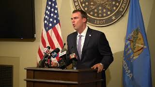 Gov. Stitt on evictions