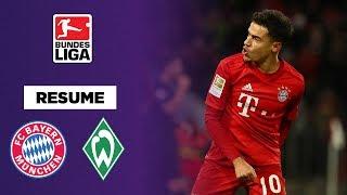 VIDEO: Bundesliga : Avec un Coutinho de gala, le Bayern Munich atomise le Werder