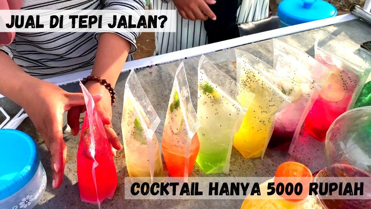 MENGGIURKAN !! MODAL SIRUP DAN SOFTDRINK 4 HARI BUKA SUDAH LARIS MANIS | INDONESIA STREET FOOD