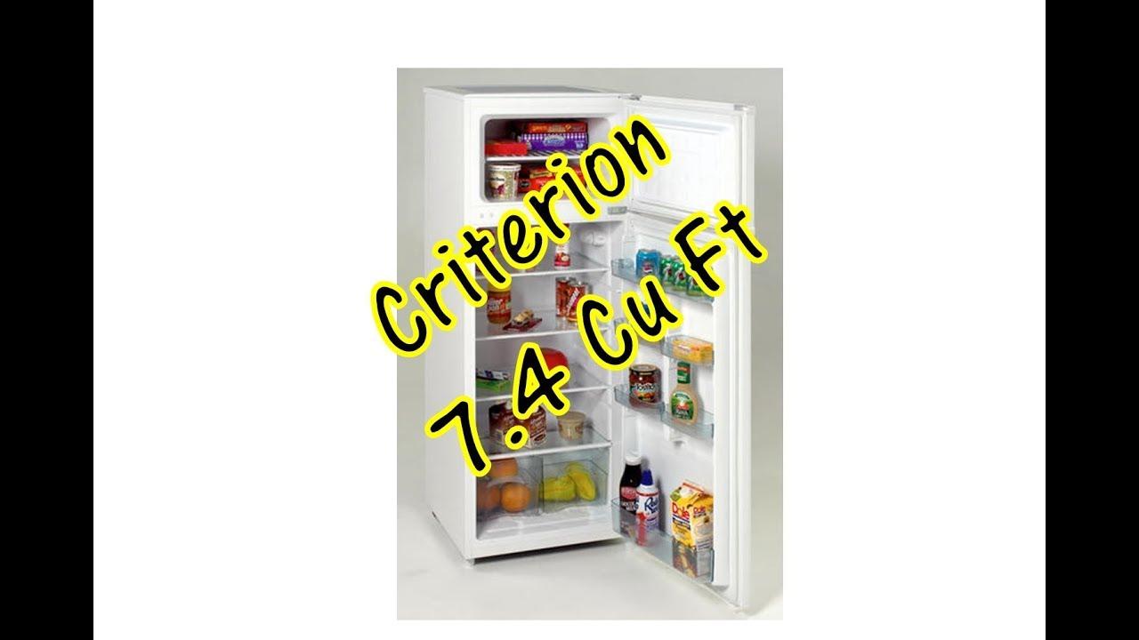 Criterion 7 4 Cu Ft Refrigerator
