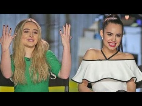 Adventures in Babysitting | Sofia Carson, Sabrina Carpenter Interview