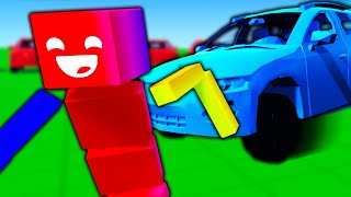 *NEW* UPDATE! Drive-able Cars and Destructible Buildings! - Fun With Ragdolls: The Game