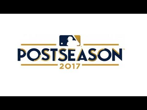 MLB 2017 Postseason Highlights