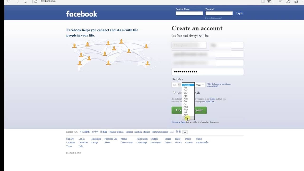 How Account 2016 Create To Youtube - Facebook A Fb