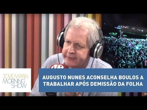 Augusto Nunes aconselha Boulos a trabalhar após demissão da Folha de S. Paulo | Morning Show