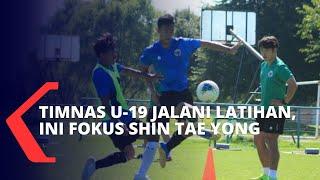 Timnas U-19 Bersiap Lawan Qatar, Ini Fokus Shin Tae Yong