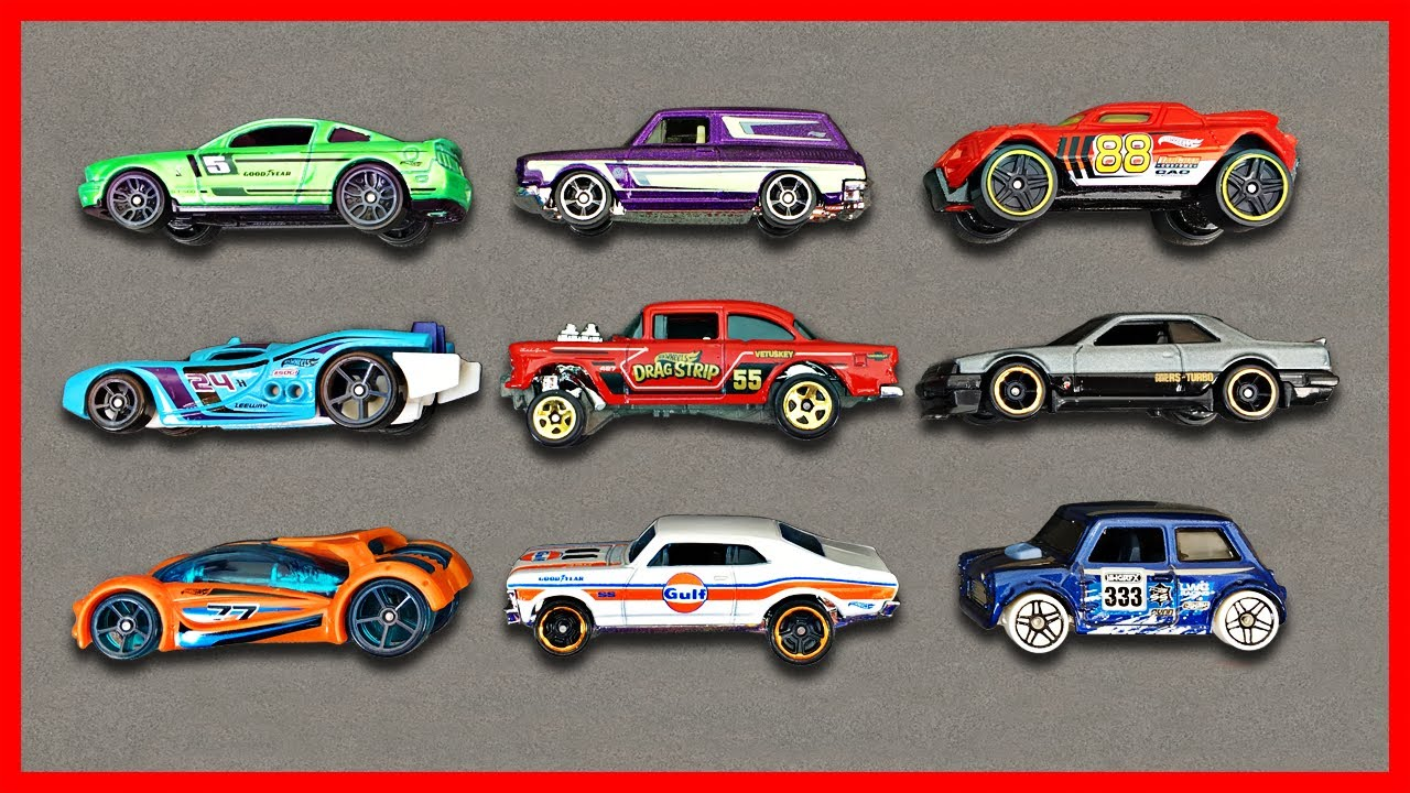 Hot Wheels Cars For Kids Learn Hot Wheels Car Names Colors Fun Educational Organic Learning Youtube