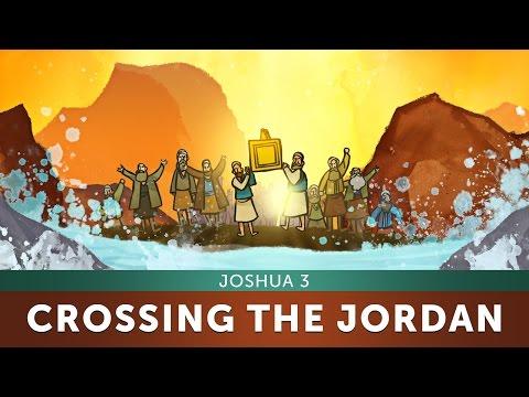 Joshua 3: Crossing The Jordan River Bible Story | Sharefaithkids.com