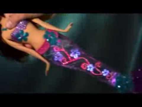 Кукла Барби Русалка - YouTube