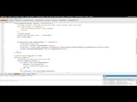 Salesforce: Implement Google Maps in Lightning Components