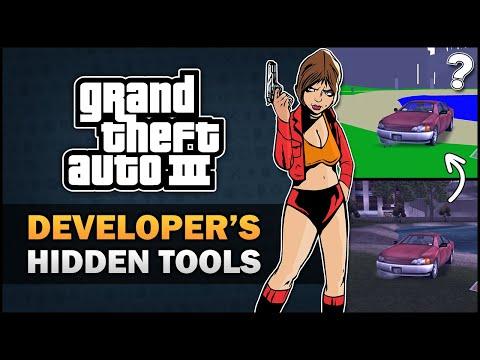 Модмейкеры GTA 3 раскопали в игре несколько инструментов для разработки