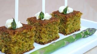 Asparagus Cake Pops hors d