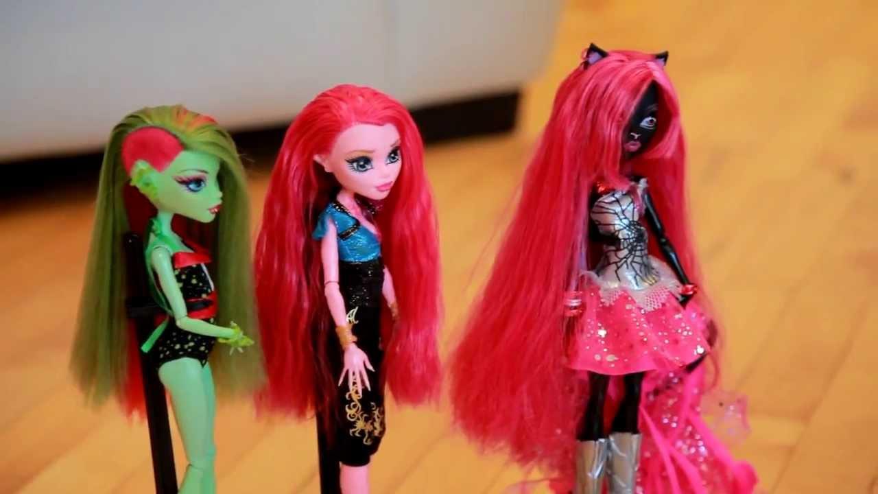 видео монстр хай куклы и винкс