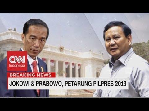 Jokowi & Prabowo, Pertarung Pilpres 2019, Ini Profilnya!