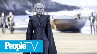 Emilia Clarke Jokingly Reveals She Was Behind That Errant Game Of Thrones Coffee Cup | PeopleTV