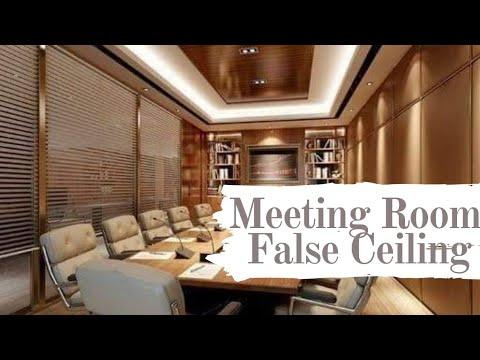 Meeting Room False Ceiling How To Make Pop Ceiling Design म ट ग र म फ ल स स ल ग ड ज इन Youtube