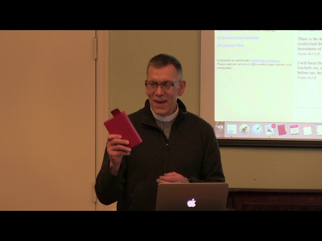 03.26.20 - Chaplain David Duprey talks about the Book of Common Prayer