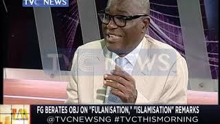 "FG berates Obasanjo on ""Fulanisation"" ""Islamisation"" Remarks"