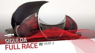 Sigulda | BMW IBSF World Cup 2018/2019 - Women's Skeleton Heat 2 | IBSF Official